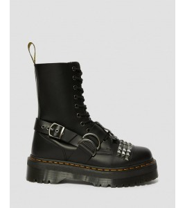 Ботинки Dr. Martens JADON HI SMOOTH LEATHER STUDDED PLATFORM BOOTS