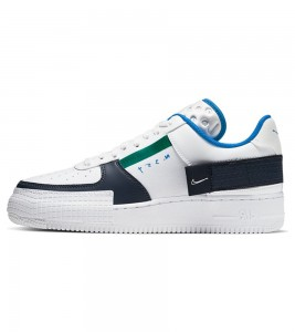 Кроссовки Nike Air Force 1 Type White Obsidian
