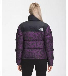 Куртка The North Face 1996 Retro Nuptse Gravity Purple Leopard Print - Фото №2