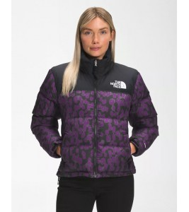 Куртка The North Face 1996 Retro Nuptse Gravity Purple Leopard Print