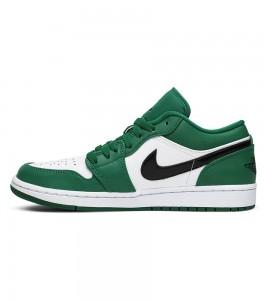 Кроссовки Air Jordan 1 Low Pine Green - Фото №2