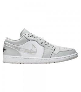 Кроссовки Air Jordan 1 Low White Camo