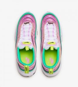 Кроссовки Nike Air Max 97 White Green W - Фото №2