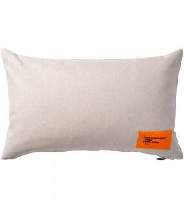 Наволочка Virgil Abloh x IKEA MARKERAD Cushion Cover Beige