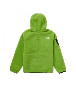 Куртка Supreme х The North Face S Logo Fleece Jacket Lime - Фото №2
