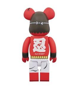 Bearbrick Shinobu Akai 400% Red - Фото №2