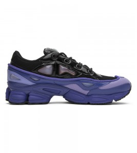 Кроссовки adidas by Raf Simons Ozweego 3 Purple Black - Фото №2