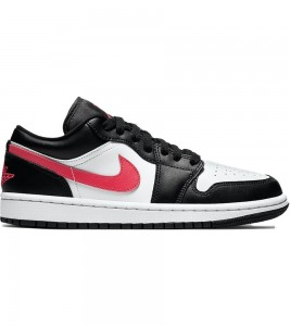Кроссовки Air Jordan 1 Low Black Siren Red WMNS