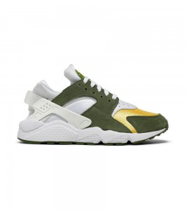 Кроссовки Nike Stussy x Air Huarache LE 'Dark Olive' 2021