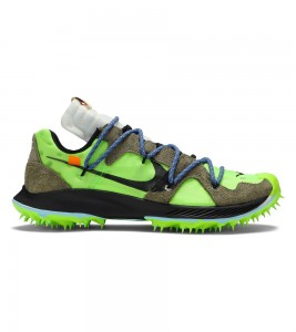 Кроссовки Off-White x Nike Wmns Air Zoom Terra Kiger 5 Athlete in Progress - Electric Green
