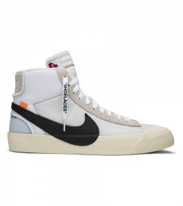 Кроссовки Off-White x Nike Blazer Mid The Ten