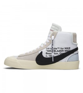 Кроссовки Off-White x Nike Blazer Mid The Ten - Фото №2
