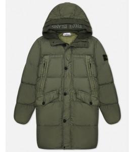 Куртка Stone Island Crinkle Reps Long Jacket Green