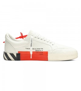 Кроссовки Off-White Vulc Sneaker White Violet - Фото №2