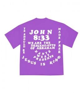 Футболка Kanye West CPFM for JIK II Purple - Фото №2
