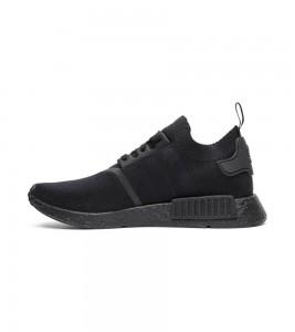 Кроссовки adidas NMD_R1 Primeknit 'Japan Triple Black' - Фото №2