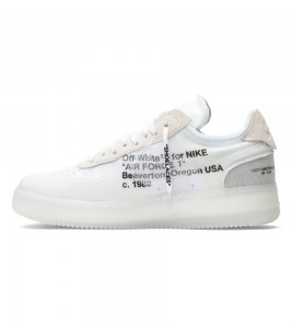 Кроссовки Off-White x Nike Air Force 1 Low The Ten - Фото №2