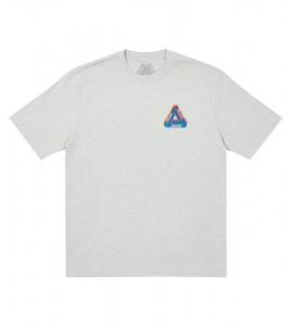 Футболка Palace Tri-Ferg Colour Blur T-Shirt Grey Marl - Фото №2