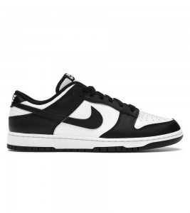Кроссовки Nike Dunk Low Retro White Black 2021