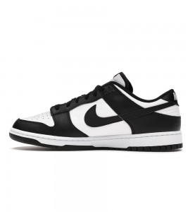 Кроссовки Nike Dunk Low Retro White Black 2021 #20