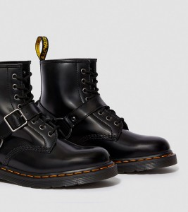 Ботинки Dr. Martens 1460 HARNESS LEATHER LACE UP BOOTS - Фото №2
