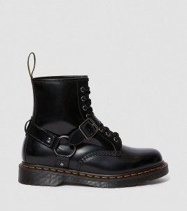 Ботинки Dr. Martens 1460 HARNESS LEATHER LACE UP BOOTS