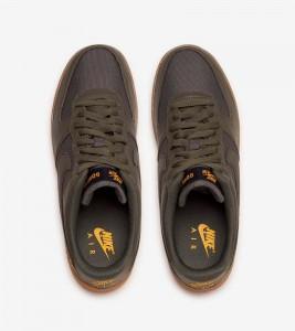 Кроссовки Nike Air Force One Low Gore-Tex Medium Olive - Фото №2