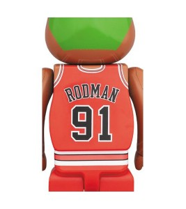 Bearbrick Dennis Rodman (Chicago Bulls) 100% & 400% Set - Фото №2