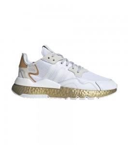 Кроссовки adidas Wmns Nite Jogger 'White Gold Metallic'