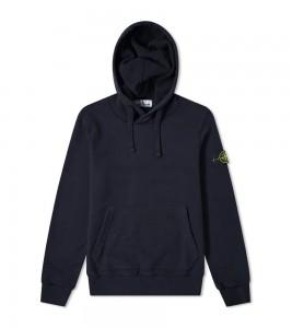 Худи Stone Island Garment-Dyed Hoodie Navy