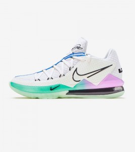 Кроссовки Nike Lebron XVII Low Glow In The Dark