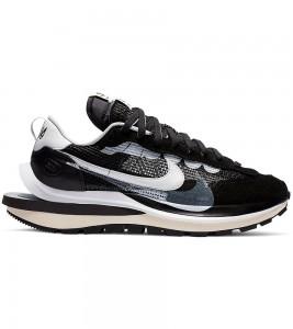Кроссовки Nike Vaporwaffle sacai Black White