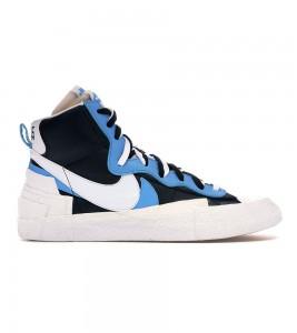 Кроссовки Nike Blazer Mid sacai White Black Legend Blue