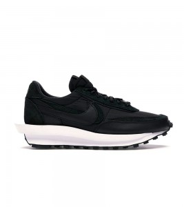 Кроссовки Nike LD Waffle Sacai Black Nylon