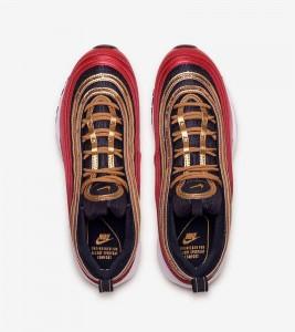 Кроссовки Nike Air Max 97 Red Gold W - Фото №2