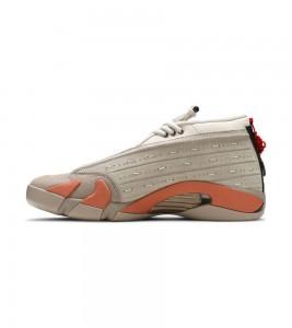Кроссовки Jordan CLOT x Air Jordan 14 Retro Low 'Terracotta' - Фото №2