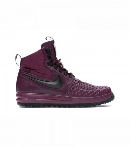 Кроссовки Nike Lunar Force 1 Duckboot High Bordeaux