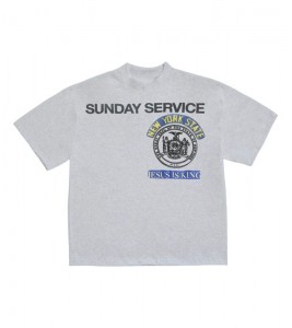 Футболка Kanye West Sunday Service New York II Heather