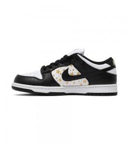 Кроссовки Nike Supreme x Dunk Low OG SB QS 'Black' - Фото №2