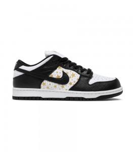 Кроссовки Nike Supreme x Dunk Low OG SB QS 'Black'