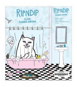 Шторка для ванной RIPNDIP Lord Nermal Shower Curtain #20