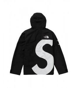 Куртка Supreme х The North Face S Logo Mountain Jacket Black - Фото №2