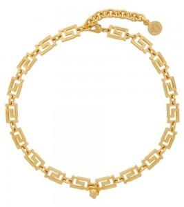 Цепочка Versace Gold Grecamania Necklace 49 см