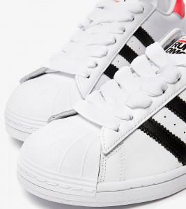 Кроссовки adidas Superstar x Run-DMC - Фото №2