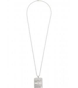 Цепочка 1017 ALYX 9SM Silver Military Tag Necklace 71 см