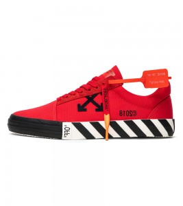 Кроссовки Off-White Vulc Low Top 'Red'