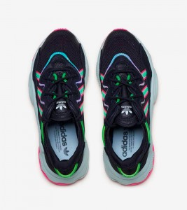 Кроссовки adidas Ozweego Black Pink W - Фото №2