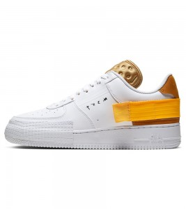 Кроссовки Nike Air Force 1 Type White Gold