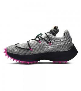 Кроссовки Off-White x Nike Wmns Vapor Street Laser Fuchsia - Фото №2