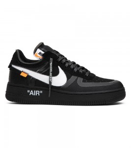 Кроссовки Off-White x Nike Air Force 1 Low Black